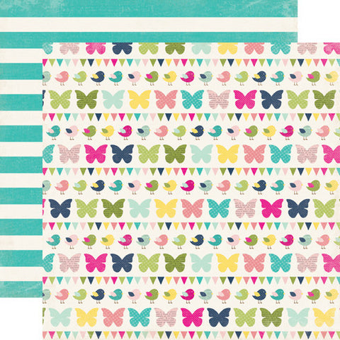 Echo Park Papers - Splendid Sunshine - Flutter Flutter - 2 Sheets