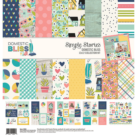 Simple Stories Collection Kit - Domestic Bliss