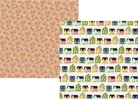 Simple Stories Papers - Domestic Bliss - Home Sweet Home - 2 Sheets
