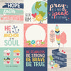 Simple Stories Papers - Faith - 4x4 Elements - 2 Sheets