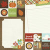 Simple Stories Papers - Pumpkin Spice - 2x2 & 6x8 Elements - 2 Sheets