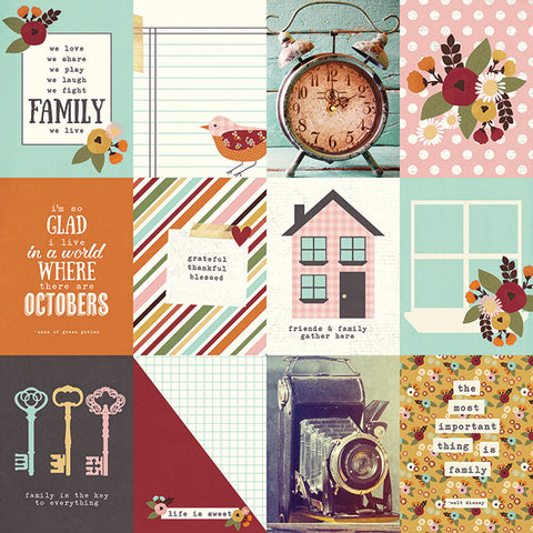Simple Stories Cut-Outs - Vintage Blessings - 3x4 Journaling Card Elements