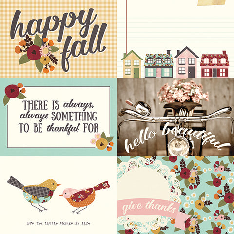 Simple Stories Cut-Outs - Vintage Blessings - 4x6 Horizontal Elements