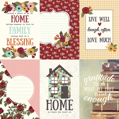 Simple Stories Cut-Outs - Vintage Blessings - 4x6 Vertical Elements