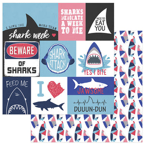 Photo Play Cut-Outs - Shark Attack - Jawsome