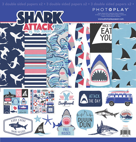 Photo Play Paper Collection Kit - Shark Attack