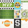 Echo Park Cut-Outs - Goal - Soccer Journaling