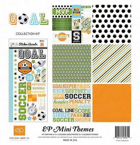 Echo Park Mini Theme Collection Kit - Goal