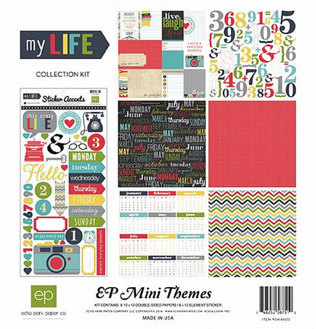 Echo Park Mini Theme Kit - My Life