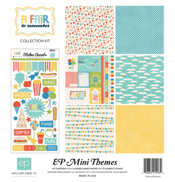 Echo Park Mini Theme Collection Kit - A Fair to Remember