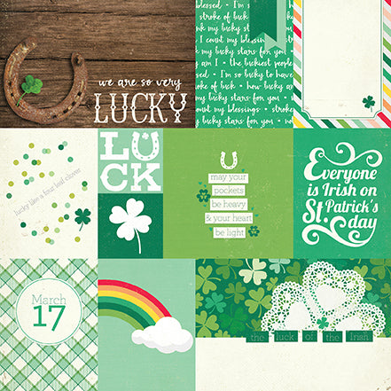 Echo Park Cut-Outs - Lucky Charm - Journaling Cards