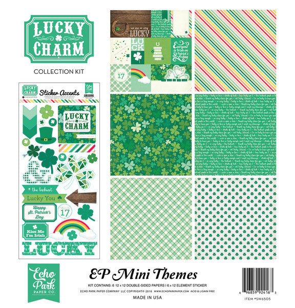 Echo Park Mini Theme Collection Kit - Lucky Charm