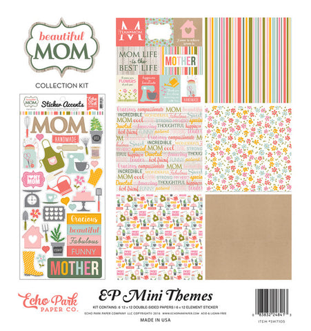Echo Park Mini Theme Collection Kit - Beautiful Mom