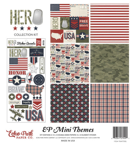 Echo Park Mini Theme Collection Kit - Hero