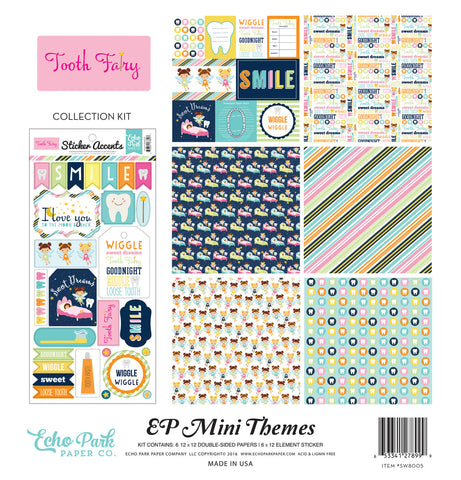 Echo Park Mini Theme Collection Kit - Tooth Fairy