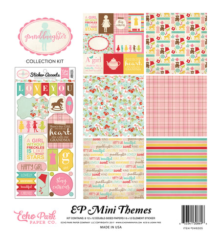 Echo Park Mini Theme Collection Kit - Granddaughter
