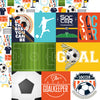 Echo Park Cut-Outs - Soccer - Journaling