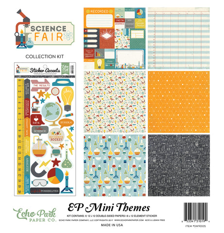 Echo Park Mini Theme Collection Kit - Science Fair