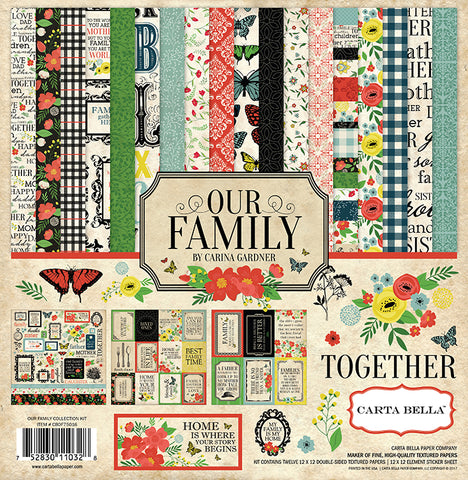 Carta Bella Collection Kit - Our Family