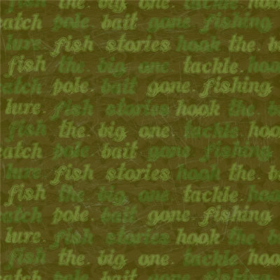 Reminisce Papers - The Great Outdoors - Fish Stories - 2 Sheets