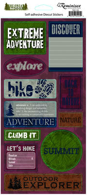 Reminisce Stickers - The Great Outdoors - Extreme Adventure