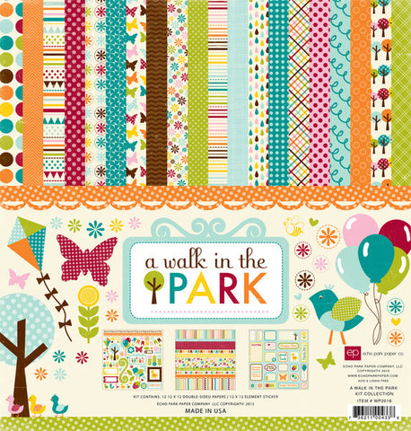 Echo Park Collection Kit - Walk In the Park