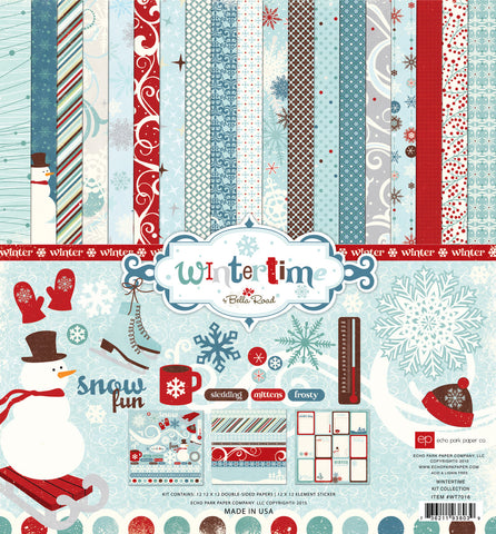 Echo Park Collection Kit - Wintertime