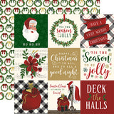 Echo Park Cut-Outs - Twas the Night Before Christmas - 4x4 Journaling Cards