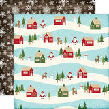 Echo Park Papers - The Story of Christmas - Village - 2 Sheets