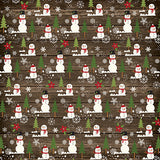 Echo Park Papers - The Story of Christmas - Snowman - 2 Sheets