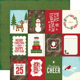 Echo Park Cut-Outs - The Story of Christmas - 3x4 Journaling Cards