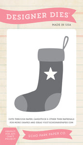 Echo Park Designer Dies - The Story of Christmas - Star Stocking Set