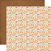 Echo Park Papers - The Story of Fall - Fall Small Floral - 2 Sheets