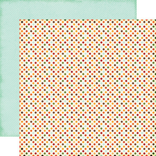 Echo Park Papers - The Story of Fall - Dots - 2 Sheets