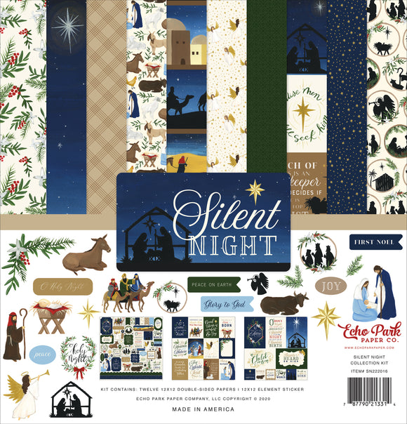 Echo Park Collection Kit - Silent Night