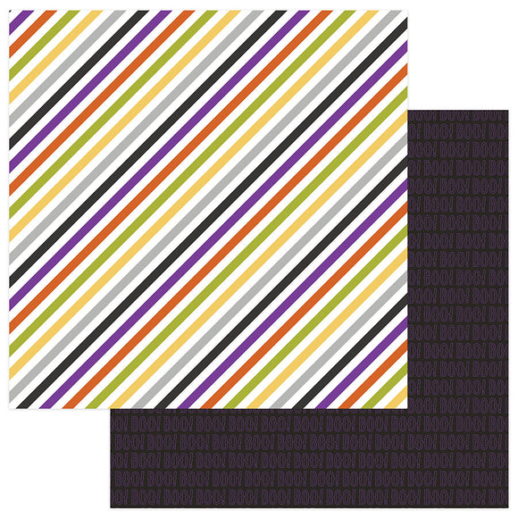 Photo Play Papers - Trick or Treat - Eeek - 2 Sheets