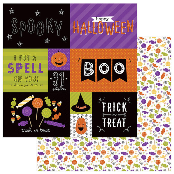 Photo Play Cut-Outs - Trick or Treat - Scared Silly