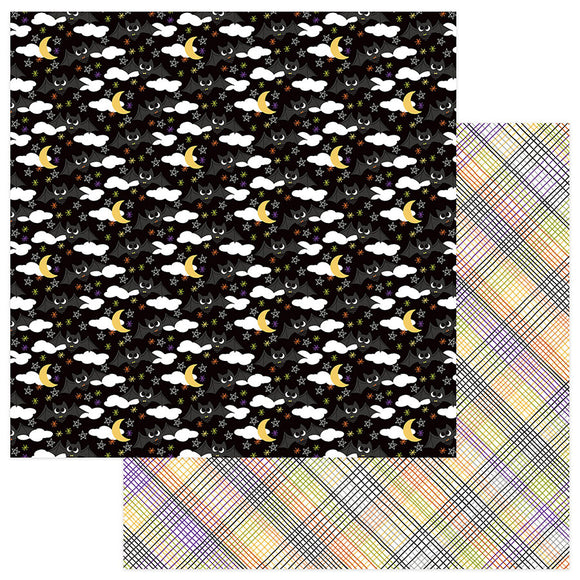 Photo Play Papers - Trick or Treat - Batty for You - 2 Sheets