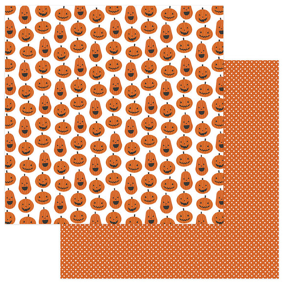 Photo Play Papers - Trick or Treat - Hey Pumpkin - 2 Sheets
