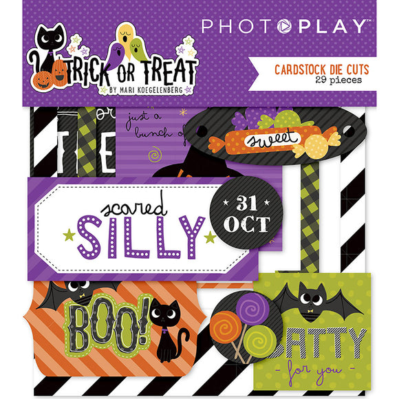 Photo Play Ephemera Die Cuts - Trick or Treat