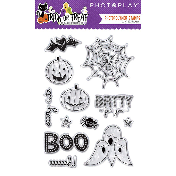 Photo Play Clear Stamp Set - Trick or Treat