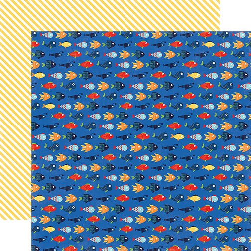 Echo Park Papers - Under the Sea - Friendly Fish - 2 Sheets