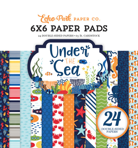 Echo Park 6x6 Pad - Under the Sea