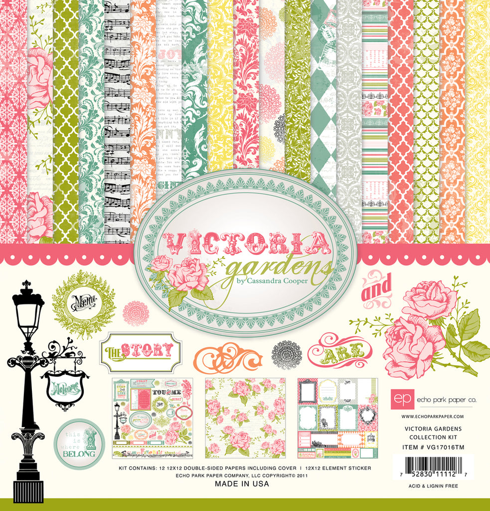 Echo Park Collection Kit - Victoria Gardens