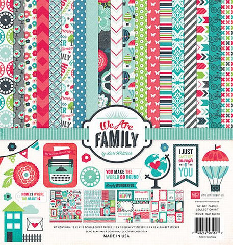 Echo Park Collection Kit - We Are Family