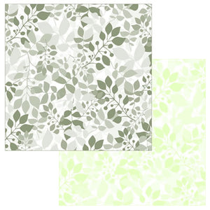 Reminisce Papers - Wedded Bliss - Soft Sage - Shimmer - 2 Sheets