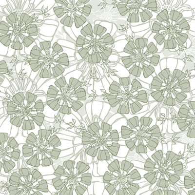 Reminisce Papers - Wedded Bliss - Full Bloom Cardstock - Shimmer - 2 Sheets