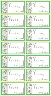 Reminisce Stickers - Wedded Bliss - You're Invited
