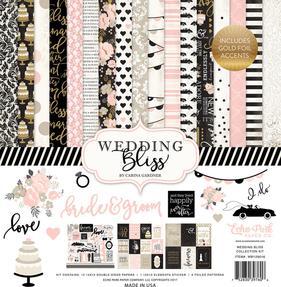 Echo Park Collection Kit - Wedding Bliss