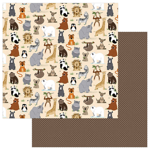Photo Play Papers - We Bought a Zoo - Wild Thing - 2 Sheets